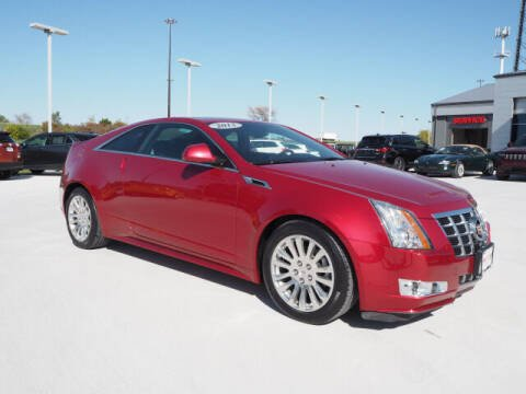2012 Cadillac CTS for sale at SIMOTES MOTORS in Minooka IL