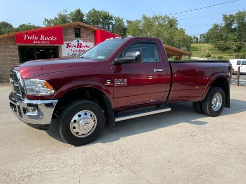 2017 RAM Ram Pickup 3500 for sale at Twin Rocks Auto Sales LLC in Uniontown PA