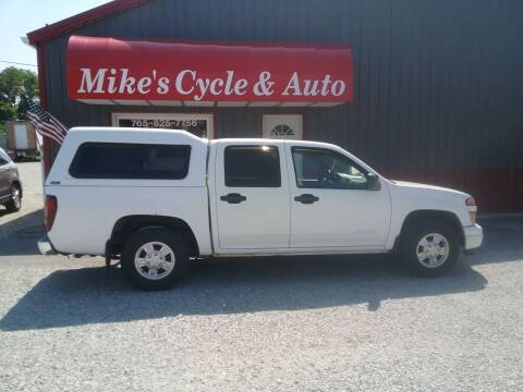 2004 Chevrolet Colorado for sale at MIKE'S CYCLE & AUTO in Connersville IN