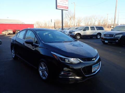 2016 Chevrolet Cruze for sale at Marty's Auto Sales in Savage MN