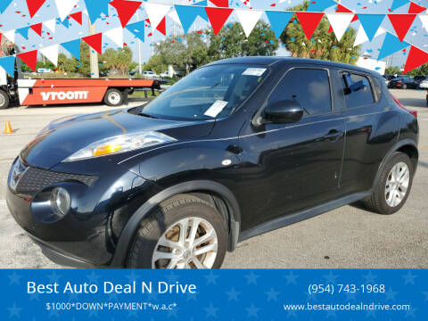 2011 Nissan JUKE for sale at Best Auto Deal N Drive in Hollywood FL