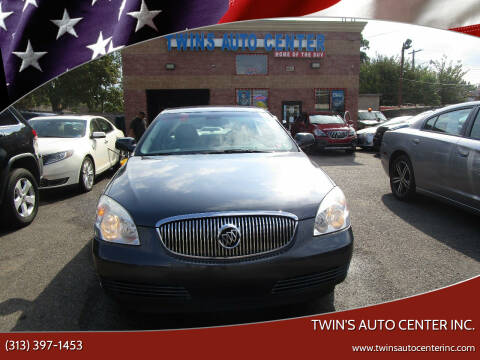 2009 Buick Lucerne for sale at Twin's Auto Center Inc. in Detroit MI
