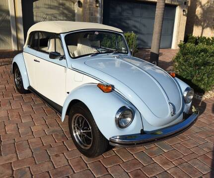 1972 Volkswagen Super Beetle for sale at Sunshine Classics, LLC in Boca Raton FL