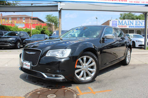2018 Chrysler 300 for sale at MIKEY AUTO INC in Hollis NY