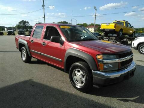 2005 Chevrolet Colorado for sale at Kelly & Kelly Supermarket of Cars in Fayetteville NC