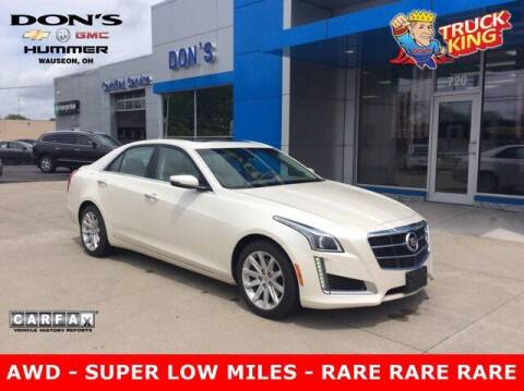 2014 Cadillac CTS for sale at DON'S CHEVY, BUICK-GMC & CADILLAC in Wauseon OH
