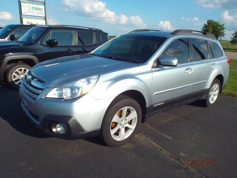 2014 Subaru Outback for sale at G & K Supreme in Canton SD