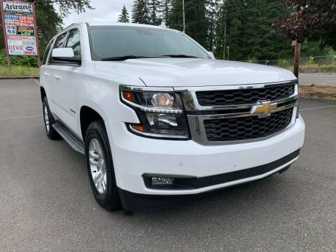 2015 Chevrolet Tahoe for sale at CAR MASTER PROS AUTO SALES in Lynnwood WA