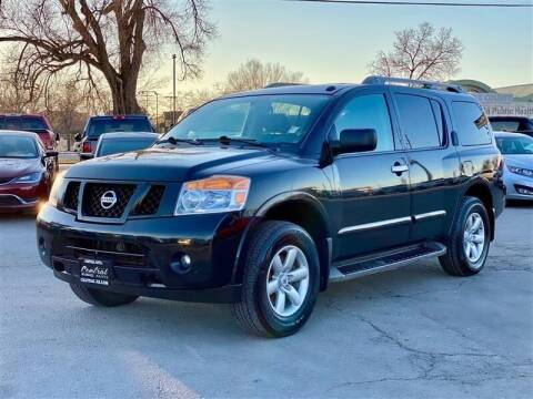 2012 Nissan Armada for sale at Central Auto in South Salt Lake UT