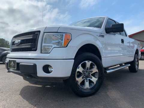 2014 Ford F-150 for sale at LUXURY IMPORTS in Hermantown MN