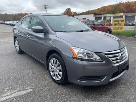 2015 Nissan Sentra for sale at Ron Motor Inc. in Wantage NJ