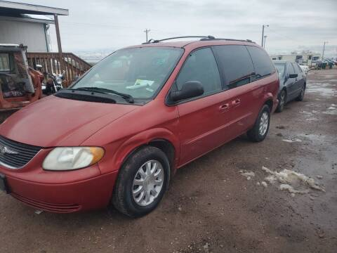 2003 Chrysler Town and Country for sale at PYRAMID MOTORS - Fountain Lot in Fountain CO