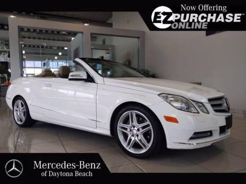 2013 Mercedes-Benz E-Class for sale at Mercedes-Benz of Daytona Beach in Daytona Beach FL