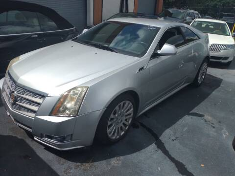 2011 Cadillac CTS for sale at LAND & SEA BROKERS INC in Pompano Beach FL