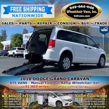 2010 Dodge Grand Caravan for sale at Wheelchair Vans Inc - New and Used in Laguna Hills CA