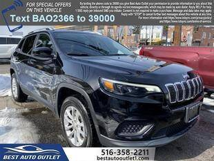 2020 Jeep Cherokee for sale at Best Auto Outlet in Floral Park NY