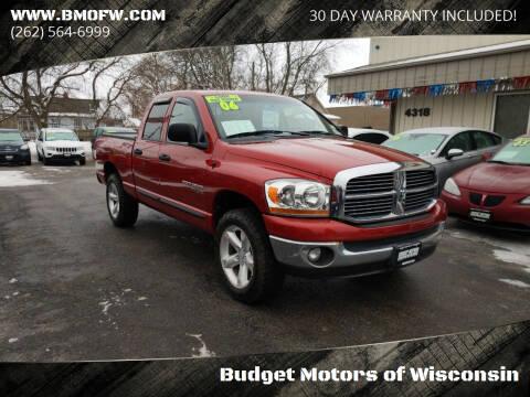 2006 Dodge Ram Pickup 1500 for sale at Budget Motors of Wisconsin in Racine WI