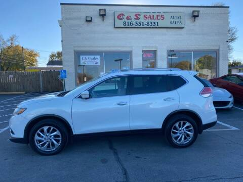 2014 Nissan Rogue for sale at C & S SALES in Belton MO