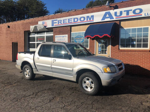 2001 Ford Explorer Sport Trac for sale at FREEDOM AUTO LLC in Wilkesboro NC