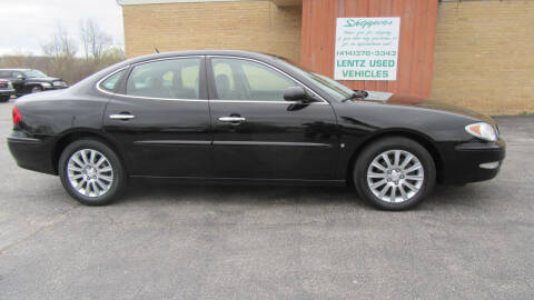 2007 Buick LaCrosse for sale at LENTZ USED VEHICLES INC in Waldo WI