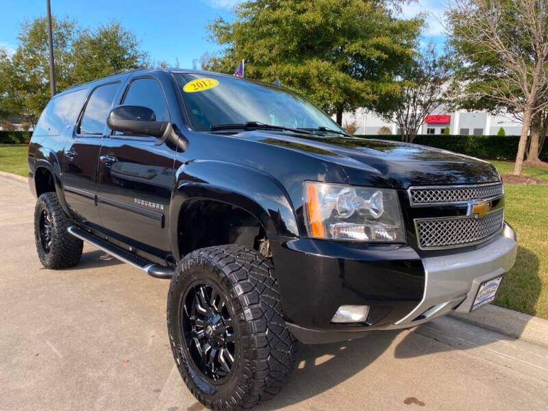 2012 Chevrolet Suburban for sale at UNITED AUTO WHOLESALERS LLC in Portsmouth VA