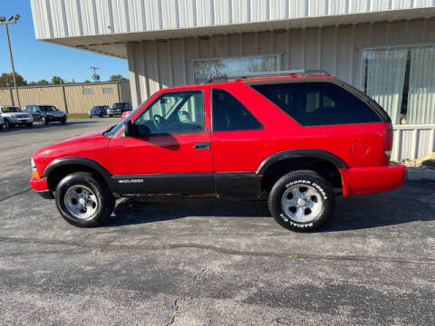 2002 Chevrolet Blazer for sale at Bruce Kunesh Auto Sales Inc in Defiance OH