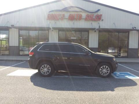 2014 Jeep Grand Cherokee for sale at DOUG'S AUTO SALES INC in Pleasant View TN