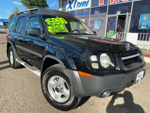 2002 Nissan Xterra for sale at Xtreme Truck Sales in Woodburn OR
