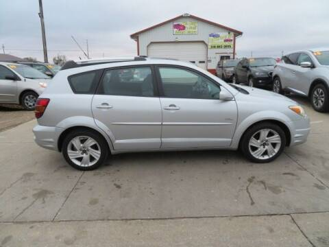 2005 Pontiac Vibe for sale at Jefferson St Motors in Waterloo IA