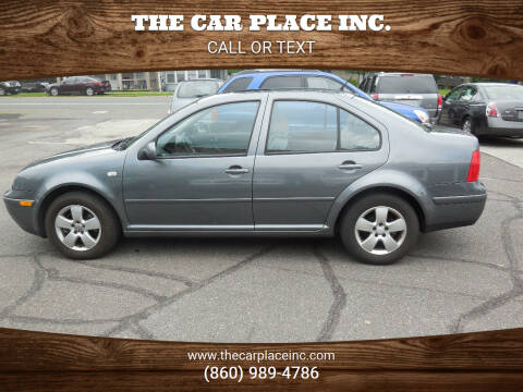 2003 Volkswagen Jetta for sale at THE CAR PLACE INC. in Somersville CT