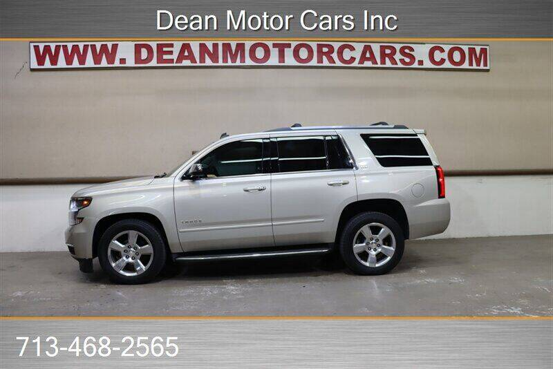 2015 Chevrolet Tahoe for sale at Dean Motor Cars Inc in Houston TX