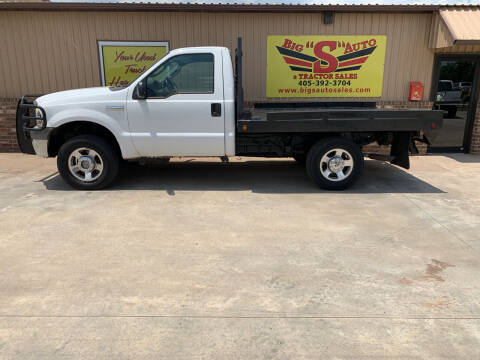 2005 Ford F-250 Super Duty for sale at BIG 'S' AUTO & TRACTOR SALES in Blanchard OK