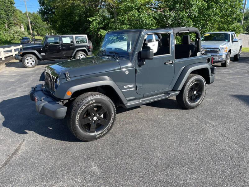 2018 Jeep Wrangler JK for sale at Glen's Auto Sales in Fremont NH