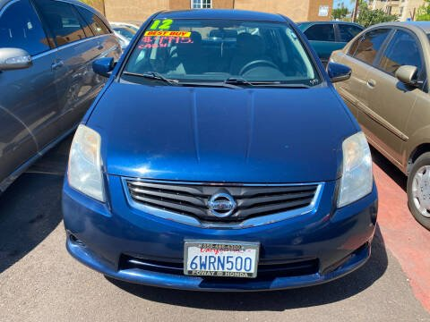 2012 Nissan Sentra for sale at Paykan Auto Sales Inc in San Diego CA
