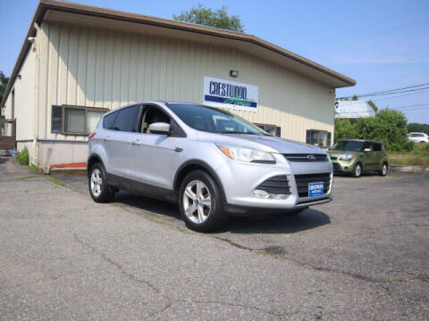 2013 Ford Escape for sale at Crestwood Auto Sales in Swansea MA