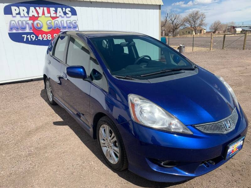2010 Honda Fit for sale at Praylea's Auto Sales in Peyton CO