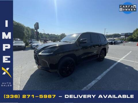 2019 Lexus LX 570 for sale at Impex Auto Sales in Greensboro NC