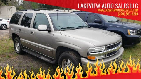2002 Chevrolet Tahoe for sale at Lakeview Auto Sales LLC in Sycamore GA
