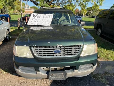2002 Ford Explorer for sale at Continental Auto Sales in White Bear Lake MN