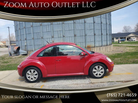 2009 Volkswagen New Beetle for sale at Zoom Auto Outlet LLC in Thorntown IN