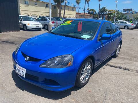 2005 Acura RSX for sale at North County Auto in Oceanside CA