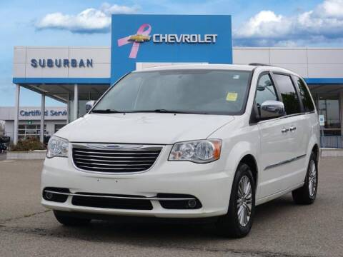 2013 Chrysler Town and Country for sale at Suburban Chevrolet of Ann Arbor in Ann Arbor MI