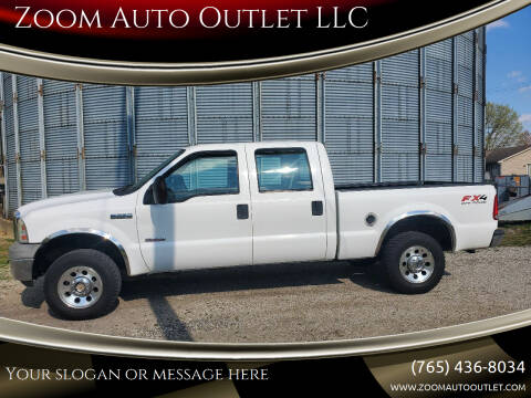 2005 Ford F-250 Super Duty for sale at Zoom Auto Outlet LLC in Thorntown IN