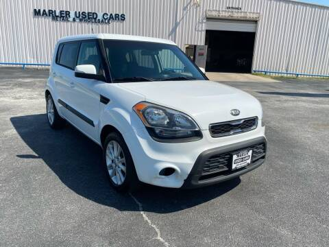 2013 Kia Soul for sale at MARLER USED CARS in Gainesville TX