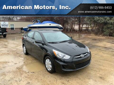 2016 Hyundai Accent for sale at American Motors, Inc. in Farmington MN