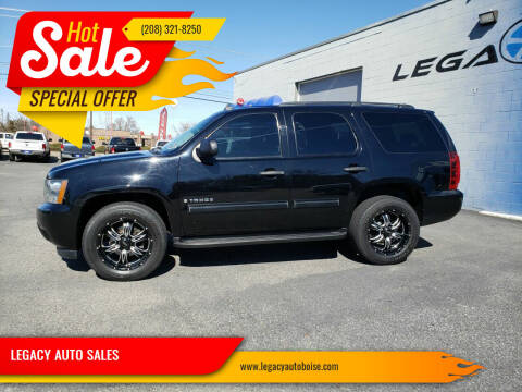 2009 Chevrolet Tahoe for sale at LEGACY AUTO SALES in Boise ID