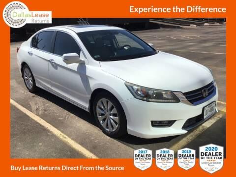2014 Honda Accord for sale at Dallas Auto Finance in Dallas TX