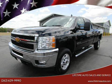 2013 Chevrolet Silverado 2500HD for sale at Lifetime Auto Sales and Service in West Bend WI