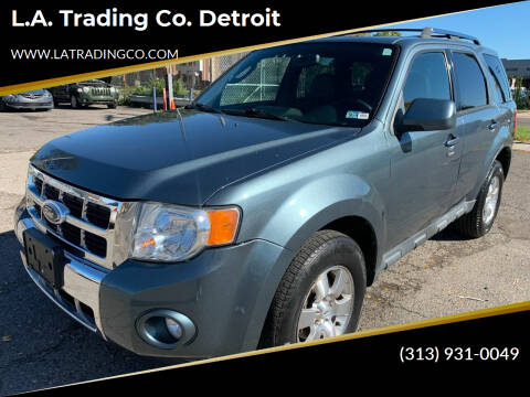 2010 Ford Escape for sale at L.A. Trading Co. Woodhaven - L.A. Trading Co. Detroit in Detroit MI