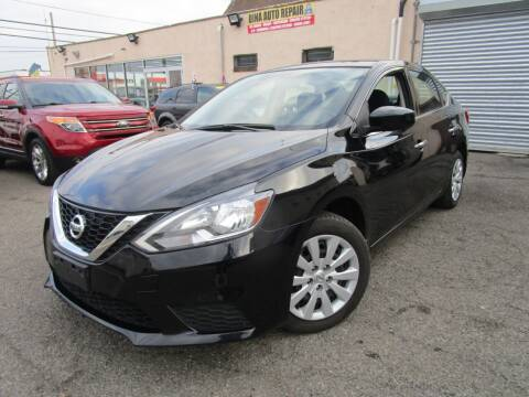 2017 Nissan Sentra for sale at Dina Auto Sales in Paterson NJ